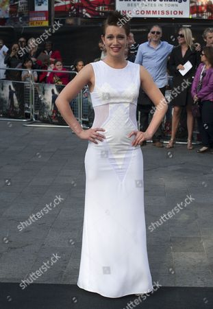 Israeli Actress Daniella Kertesz Attends the World Premiere of 'World War Z' at the Empire on Leicester Square in London Britain 02 June 2013 the Movie Opens in British Theaters on 21 June Epa/daniel Deme United Kingdom London