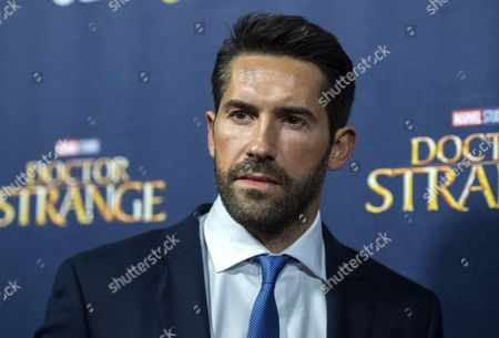 British Actor/cast Member Scott Adkins Attends the Premiere of 'Doctor Strange' at Westminster Abbey in London Britain 24 October 2016 the Movie Opens in British Cinemas on 25 October United Kingdom London