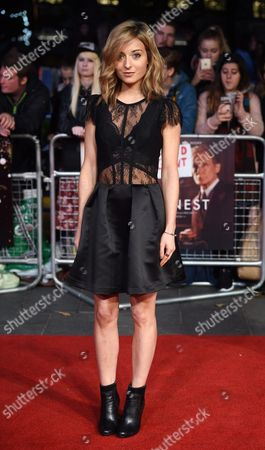British Actress/cast Member Stephanie Hyam Arrives For the Premiere of 'Their Finest' During the 60th Bfi London Film Festival in London Britain 13 October 2016 the Festival Runs From 05 to 16 October United Kingdom London