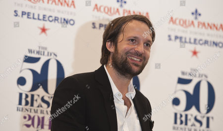 Danish Chef Rene Redzepi the Co-owner Noma Restaurant From Copenhagen in Denmark Addresses the Media After His Restaurant was Named the Worlds Best Restaurant at the World's 50 Best Restaurants Awards 2014 at the London Guildhall London Britain 28 April 2014 the Annual Awards Recognise Best Restaurants and Chefs in the World United Kingdom London