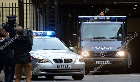 A Police Van Carrying Ira Bombing Suspect John Anthony Downey Departs the Westminster Magistrates Court in London Britain 22 May 2013 Downey 61 Has Been Charged with the Murder of Four Soldiers in the 1982 Ira Bombing in Hyde Park the Crown Prosecution Service Has Said 22 May Downey is Charged with the Murders of Roy John Bright Dennis Richard Anthony Daly Simon Andrew Tipper and Geoffrey Vernon Young United Kingdom London