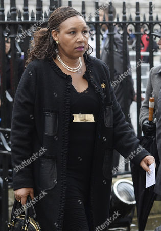 Stock Photo of Daughter of the Late Nelson Mandela Zenani Mandela-dlamini Arrives For a Memorial Service to Celebrate the Life of Former South Africa President Nelson Mandela in Westminster Abbey in London Britain 03 March 2014 Nobel Peace Prize Winner Nelson Mandela Died at the Age of 95 on 05 December 2013 United Kingdom London