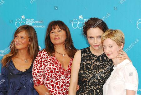 Valeria Bilello, Serena Grandi, Francesca Neri and Alba Rohrwacher