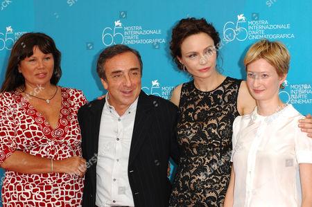 Serena Grandi, Silvio Orlando, Alba Rohrwacher and Francesca Neri