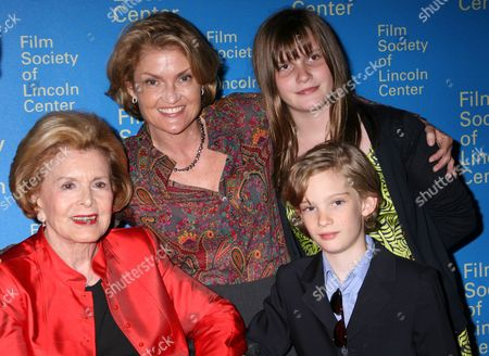 Stock Picture of Lydia Heston, Holly Heston and guests