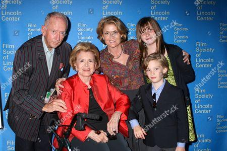 John McDonald, Lydia Heston, Holly Heston and guests