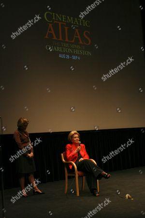 Stock Photo of Holly Heston, Lydia Heston