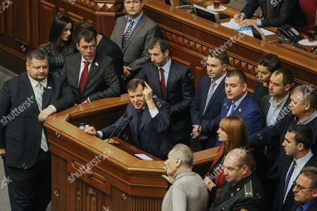Editorial image of Ukraine Parliament - Dec 2014