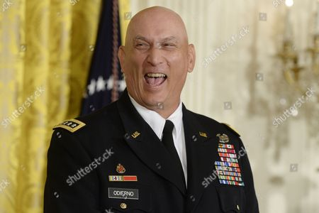 Chief of Staff of the Us Army General Raymond Odierno Attends the White House Healthy Kids and Safe Sports Concussion Summit in the East Room of the White House in Washington Dc Usa 29 May 2014 United States Washington