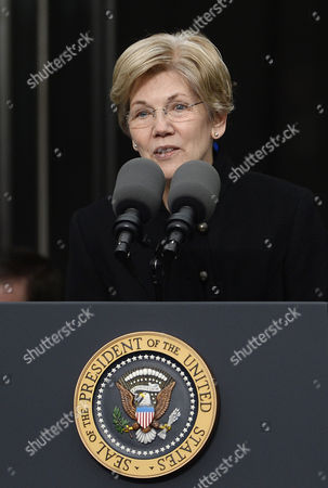 Democratic Senator From Massachusetts Elizabeth Warren Speaks at the Start of the Dedication Ceremony of the Edward M Kennedy Institute For the United States Senate in Boston Massachusetts Usa 30 March 2015 the Institute Which is Envisioned As a Way to Inform the Public About the Role of the United States Senate Opens to the Public on 31 March 2015 United States Boston