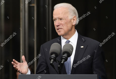 Us Vice President Joe Biden Speaks During the Dedication Ceremony of the Edward M Kennedy Institute For the United States Senate in Boston Massachusetts Usa 30 March 2015 the Institute Which is Envisioned As a Way to Inform the Public About the Role of the United States Senate Opens to the Public on 31 March 2015 United States Boston