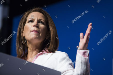 U S Rep Michele Bachmann of Minnesota Speaks During the Faith and Freedom Coalition's 'Road to Majority' Conference in Washington Friday June 20 2014 the Three-day Conference Featured Many Potential 2016 Presidential Candidates who Are Courting the Audience United States Washington