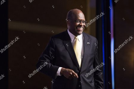 Former Presidential Candidate Herman Cain Arrives on Stage to Speak During the Faith and Freedom Coalition's 'Road to Majority' Conference in Washington Dc Usa 20 June 2014 the Three-day Conference Featured Many Potential 2016 Presidential Candidates who Are Courting the Audience United States Washington