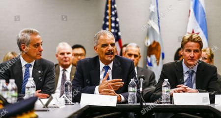 Editorial photo of Usa Holder in Chicago - Dec 2014