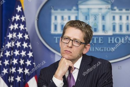 White House Press Secretary Jay Carney Answers Questions During His Last Press Briefing at the White House in Washington Dc Usa 18 June 2014 Deputy Press Secretary Josh Earnest Will Take Over Carney's Position United States Washington