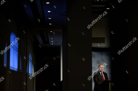 Central Intelligence Agency (cia) Director John O Brennan Speaks During an Appearance at the Council of Foreign Relations (cfr) in New York New York Usa 13 March 2015 Brennan Spoke About the Security Threats Facing the United States and How the Cia is Responding United States New York