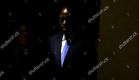 Joseph Kabila Kabange President of the Democratic Republic of the Congo Arrives to Speak During the 69th Session of the United Nations General Assembly at United Nations Headquarters in New York New York Usa 25 September 2014 United States New York