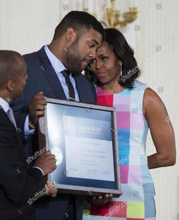 Editorial picture of Usa Obama Museum and Library Awards - May 2015