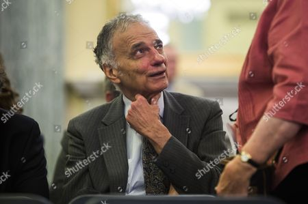 Consumer Advocate Ralph Nader Sits in the Audience at a Senate Commerce Science and Transportation Committee Hearing Called 'Examining Accountability and Corporate Culture in Wake of the Gm Recalls' in the Russell Senate Office Building in Washington Dc Usa 17 July 2014 Lawmakers Want to Know why Top Executives at the American Car Company Were Unaware of the Ignition Switch Problem For More Than a Decade United States Washington