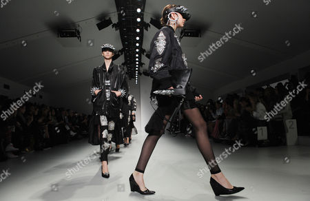 Editorial image of Britain London Fashion Week - Sep 2013