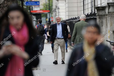 Us Professor John O' Keefe (c) on His Way to His Laboratory in University College London in London Britain 06 October 2014 After Winning the Nobel Prize For Physiology Or Medicine Us Citizen John O'keefe and Norwegians May-britt Moser and Edvard Moser Won the 2014 Nobel Prize in Medicine For the Discovery of Nerve Cells That Constitute a Positioning System in the Brain United Kingdom London