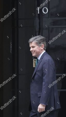 Hugh Robertson Minister For Sport at the Department For Culture Media and Sport Arrivesfor His Meeting with British Prime Minister David Cameron at Number 10 Downing Street Central London England 07 October 2013 Following His Meeting with David Cameron Hugh Robertson Has Been Appointed As Minister of State at Foreign and Commonwealth Office in the Conservative Cabinet Reshuffle United Kingdom London