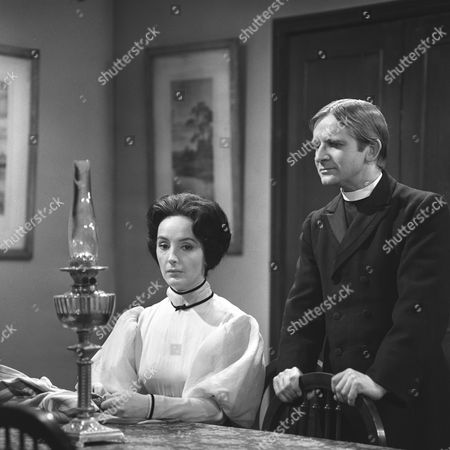 'The Stories of D H Lawrence: Daughters of the Vicar'   TV Picture shows - Petra Davies as Mary Lindley and Robin Parkinson as Edward Massey