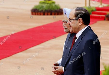 Editorial image of India Iraq Prime Minister Visit - Aug 2013