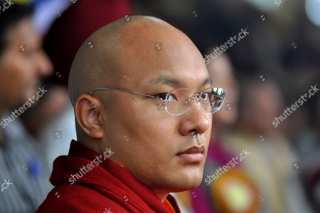 Ogyen Trinley Dorje (r) the 17th Karmapa the Third Most Important Tibetan Religious Head and Others Take Part in 79th Birth Anniversary Celebrations of the Tibetan Spiritual Leader the Dalai Lama (not Pictured) at the Main Tibetan Tsuglagkhang Temple at Mcleod Ganj Near Dharamsala India 06 July 2014 Born on 06 July 1935 Tibetan Spiritual Leader the Dalai Lama Settled at Dharamsala After Fleeing Tibet in 1959 After a Failed Uprising Against Chinese Rule India Dharamsala