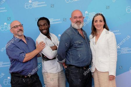 Directors Pierre Trividic, Mario Bernard, Cyril Guei, Dominique Blanc