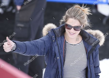 Morgan Beck Wife Bode Miller of the Us Reacts to His Run in the Men's Downhill Training on the Birds of Prey Racecourse at the Fis Alpine World Ski Championships in Beaver Creek Colorado Usa 03 February 2015 the World Championships Run From 02 February Through 15 February United States Beaver Creek