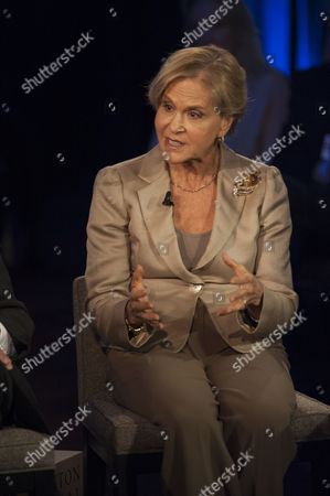 Rockefeller Foundation President Judith Rodin Participates in a Panel Discussion During the 2013 Clinton Global Initiative Annual Meeting in New York New York Usa 25 September 2013 Established in 2005 by Former Us President Bill Clinton the Cgi Convenes a Community of Global Leaders to Forge Solutions to the World's Most Pressing Challenges United States New York