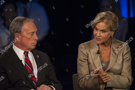 New York City Mayor Michael Bloomberg and Rockefeller Foundation President Judith Rodin Participate in a Panel Discussion During the 2013 Clinton Global Initiative Annual Meeting in New York New York Usa 25 September 2013 Established in 2005 by Former Us President Bill Clinton the Cgi Convenes a Community of Global Leaders to Forge Solutions to the World's Most Pressing Challenges United States New York