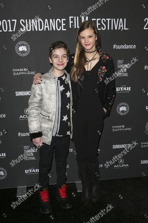 Peter DaCunha and Peyton Kennedy