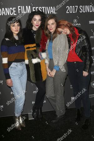 Sheila Vand, Annie Clark, Lindsay Burdge and Roxanne Benjamin