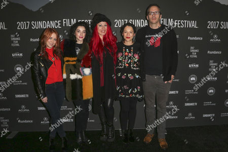 Stock Picture of Roxanne Benjamin, Annie Clark, Jovanka Vuckovic, Sofìa Carrillo and Todd Brown