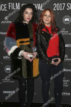 Annie Clark and Roxanne Benjamin