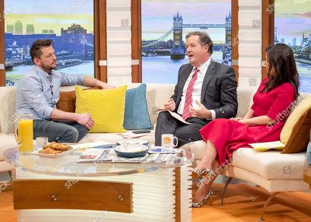 Jimmy Doherty, Piers Morgan and Susanna Reid