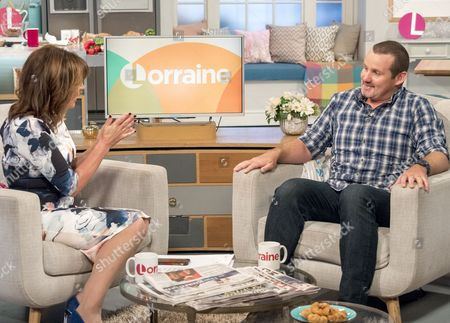 Lorraine Kelly and Ryan Moloney