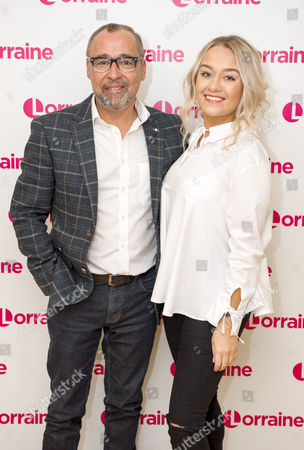 Editorial image of 'Lorraine' TV show, London, UK - 23 Jan 2017