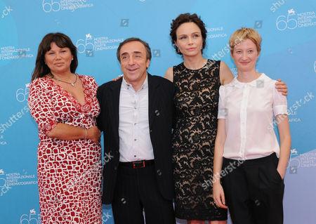 Serena Grandi, Silvio Orlando, Francesca Neri and Alba Rohrwacher
