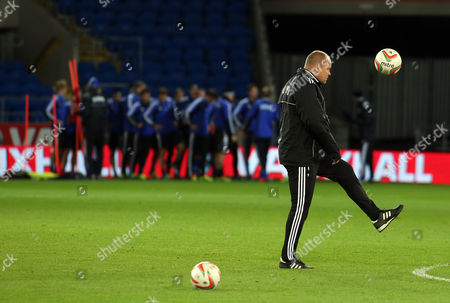 Finland Manager Mixu Paatelainen During His Team's Training Session at the City Stadium Cardiff 15 November 2013 Ahead of the Wales Versus Finland International Football Friendly Match to Be Played 16 November 2013 United Kingdom London