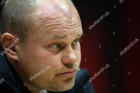 Finland Manager Mixu Paatelainen Talks During a Pre Training Press Conference at the City Stadium Cardiff Wales 15 November 2013 Ahead of the Wales Versus Finland International Football Friendly Match to Be Played 16 November 2013 United Kingdom London