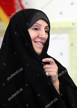 Iranian New Spokeswoman of the Foreign Ministry Marzieh Afkham is Seen During a Ceremony in Tehran Iran 01 September 2013 It is For the First Time in Its 34-year-old History That the Islamic Republic of Iran Has Appointed a Woman As Spokesperson For the Foreign Ministry the 47-year-old Afkham Has For Almost Two Decades Been General Director of Different Departments in the Foreign Ministry Including in Charge of Media Affairs Iran (islamic Republic Of) Tehran