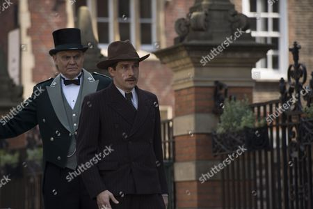 'The Halcyon' (Episode 3) - Nico Rogner as Max and Nick Brimble as Skinner.