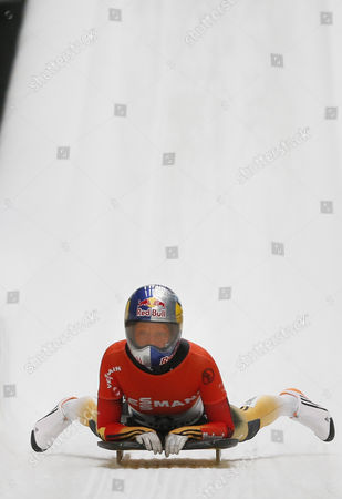 Editorial image of Russia Bobsleigh and Skeleton World Cup - Feb 2015