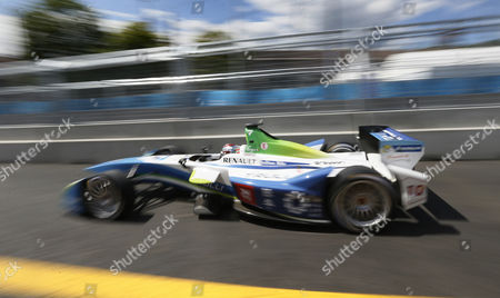 Italy's Formula E Driver Jarno Trulli of Trulli Formula E Team in Action During the Qualifying Session of the Fia Formula E Race in Moscow Russia 06 June 2015 Russian Federation Moscow
