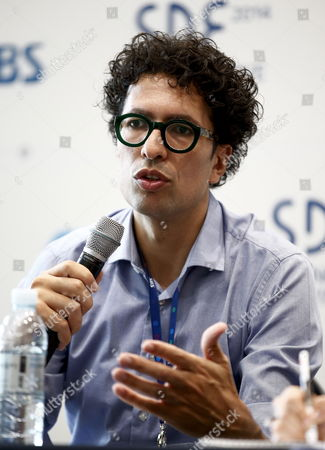 British Kwame Ferreira Founder & Ceo of the Kwame Corporation Speaks About 'Creative Connectivity and the Age of Emotional Innovation ' During the Opening Ceremony of the Seoul Digital Forum in Seoul South Korea 21 May 2014 the Seoul Digital Forum Under the Theme '29 Keys to Innovative Wisdom' is Held From 21 Until 22 May Korea, Republic of Seoul