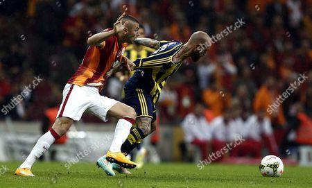 Editorial picture of Turkey Soccer Super Legaue - Oct 2014