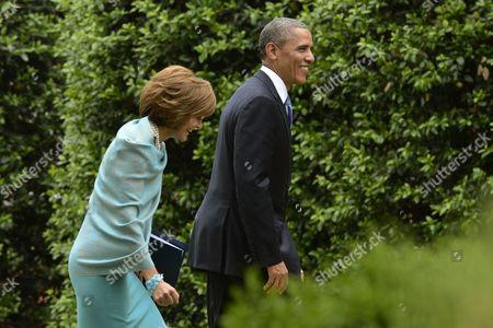 Editorial image of Usa Obama Marshall - May 2013